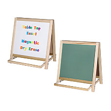 Flipside Magnetic Dry Erase Chalk Table