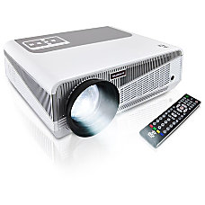 Pyle PRJAND615 LCD Projector 720p HDTV