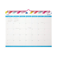 Divoga Horizontal Monthly Wall Calendar 8