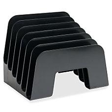 Sparco 6 compartment Incline Desk Sorter