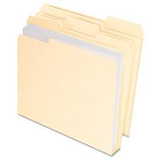 Pendaflex CutLessWaterShedDouble Stuff File Folders 13