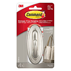 3M Command Damage Free Hook Traditional