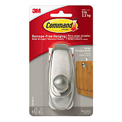 3M Command Damage Free Hook Timeless