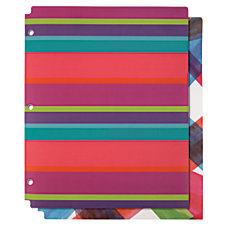 Divoga 2 Pocket Poly Folder Fashion