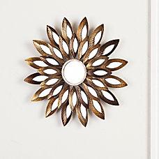 Southern Enterprises Morina Round Mirrored Wall