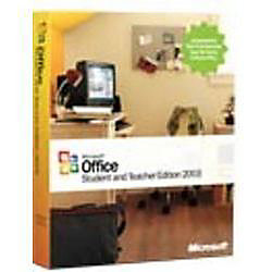 microsoft office student and teacher edition 2003 complete
