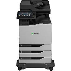 Lexmark CX860dte Laser Multifunction Printer Color