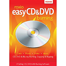 Roxio Easy CD DVD Burning Download