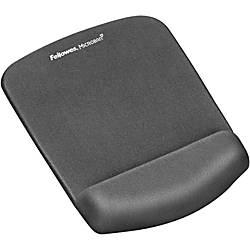 Fellowes PlushTouch Mouse Pad Wrist Rest