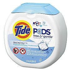 Tide Free Gentle Laundry Detergent PODS