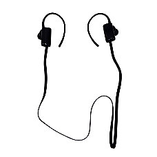 Craig Rechargeable Bluetooth Ear Buds Black