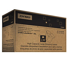 DYMO 1785378 High Capacity White Labels