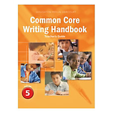Journeys Common Core Writing Handbook Teachers