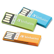 Clip It 4GB USB 20 Drives