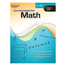 Steck Vaughn Core Standards For Math