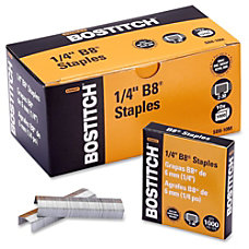 Bostitch B8 PowerCrown Premium Staples Full