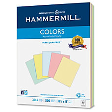 Hammermill Colors Colored Paper Letter 850