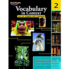 Steck Vaughn Vocabulary In Context For