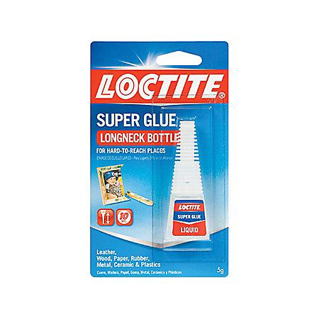 Loctite long neck liquid super glue oz clear by for Loctite super glue