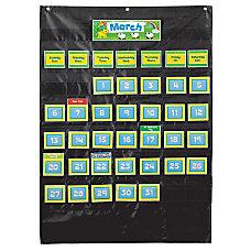 Carson Dellosa Deluxe Calendar Pocket Chart