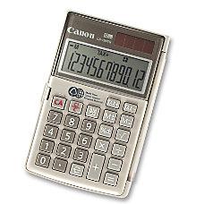 Canon LS 154TG Handheld Green Calculator