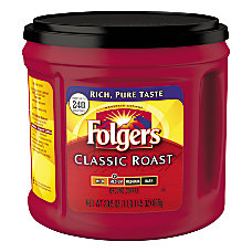 Folgers Caffeinated Ground Classic Roast 305