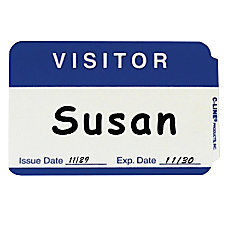 C Line Visitor Badges 350 Width