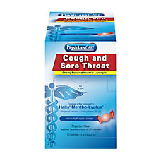 PhysiciansCare Cough And Sore Throat Lozenges