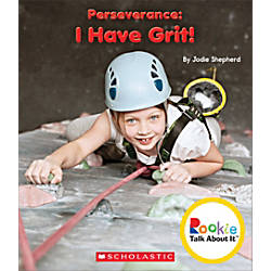 Scholastic Rookie Talk About It Perseverance