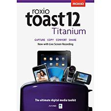 Roxio Toast 12 Titanium Download Version