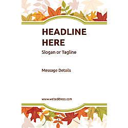 Custom Vertical Poster Autumn Frame