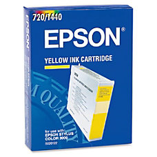 Epson S020122 Yellow Ink Cartridge