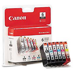 Canon BCI 6 BlackColor Ink Cartridges