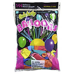 Tablemate Assorted Latex Balloons 12 Assorted