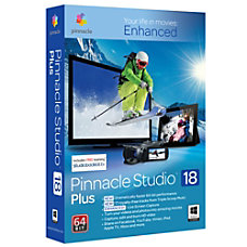 Pinnacle Studio 18 Plus Download Version