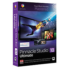 Pinnacle Studio 18 Ultimate Download Version