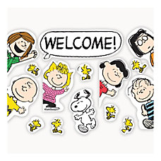 Eureka Welcome Go Arounds Accents Peanuts