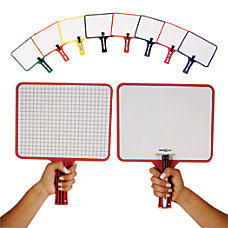 KleenSlate Deluxe Dry Erase Response Paddles