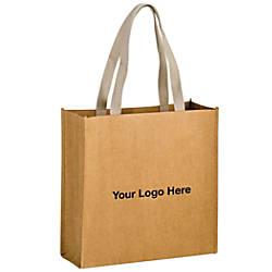 Tidal Wave Kraft Paper Tote Bag