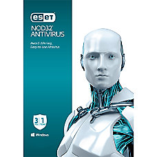 ESET NOD32 Antivirus 3 Users 1