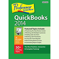 Professor Teaches QuickBooks 2014 Download Version