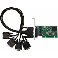 SIIG 4 port MultiPort Serial Adapter