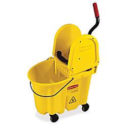 Rubbermaid WaveBrake Combo Mop Bucket 35