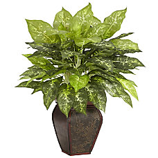 Nearly Natural 23 H Silk Dieffenbachia