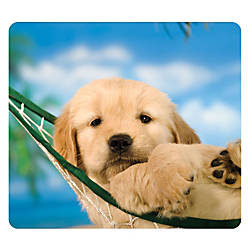 Fellowes Recycled Optical Mouse Pad Puppy