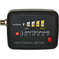 Antennas Direct UHFVHF Signal Meter