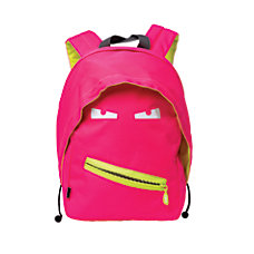 Zipit Grillz Backpack Neon Pink