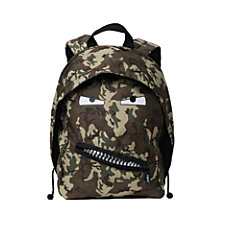 Zipit Grillz Backpack Camo Green