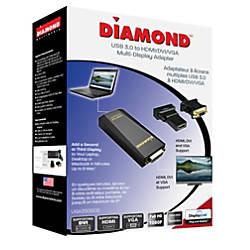 Diamond USB 30 to DVIHDMIVGA Adapter