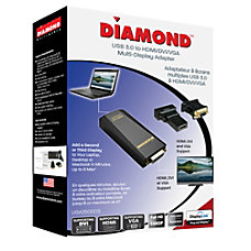 Diamond USB 30 to DVIHDMIVGA Adapter